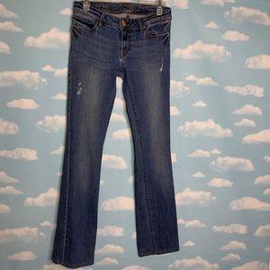 DL1961- Cindy Slim Bootcut Distressed Jeans sz 28